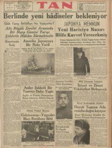 Tan-Gazetesi-7-Şubat-1938 | Atlas |