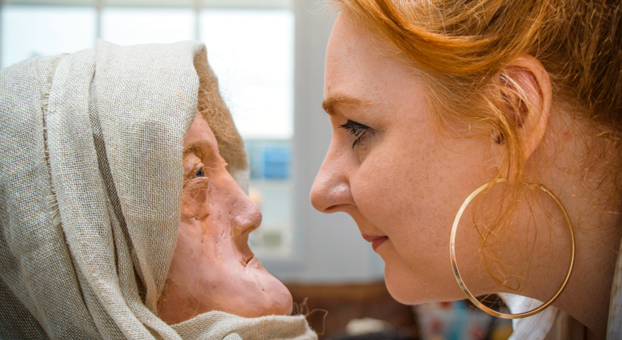 Yaşlı Druidin yüzü canlandırıldı | Atlas | Gündem