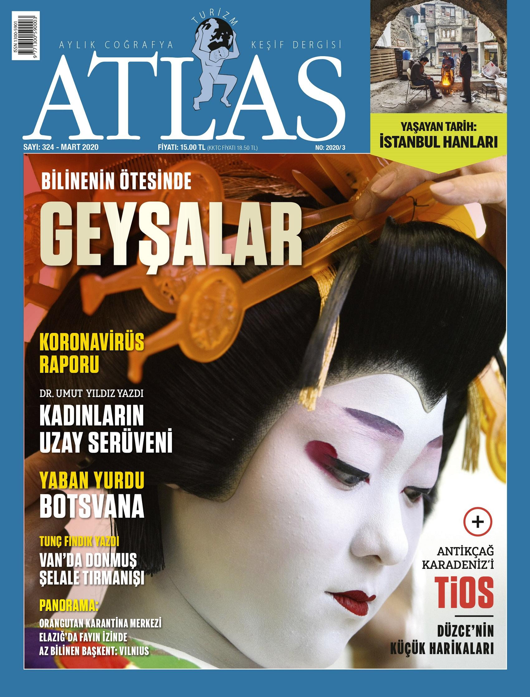 Atlas'ın mart sayısı raflarda | Atlas | Gündem