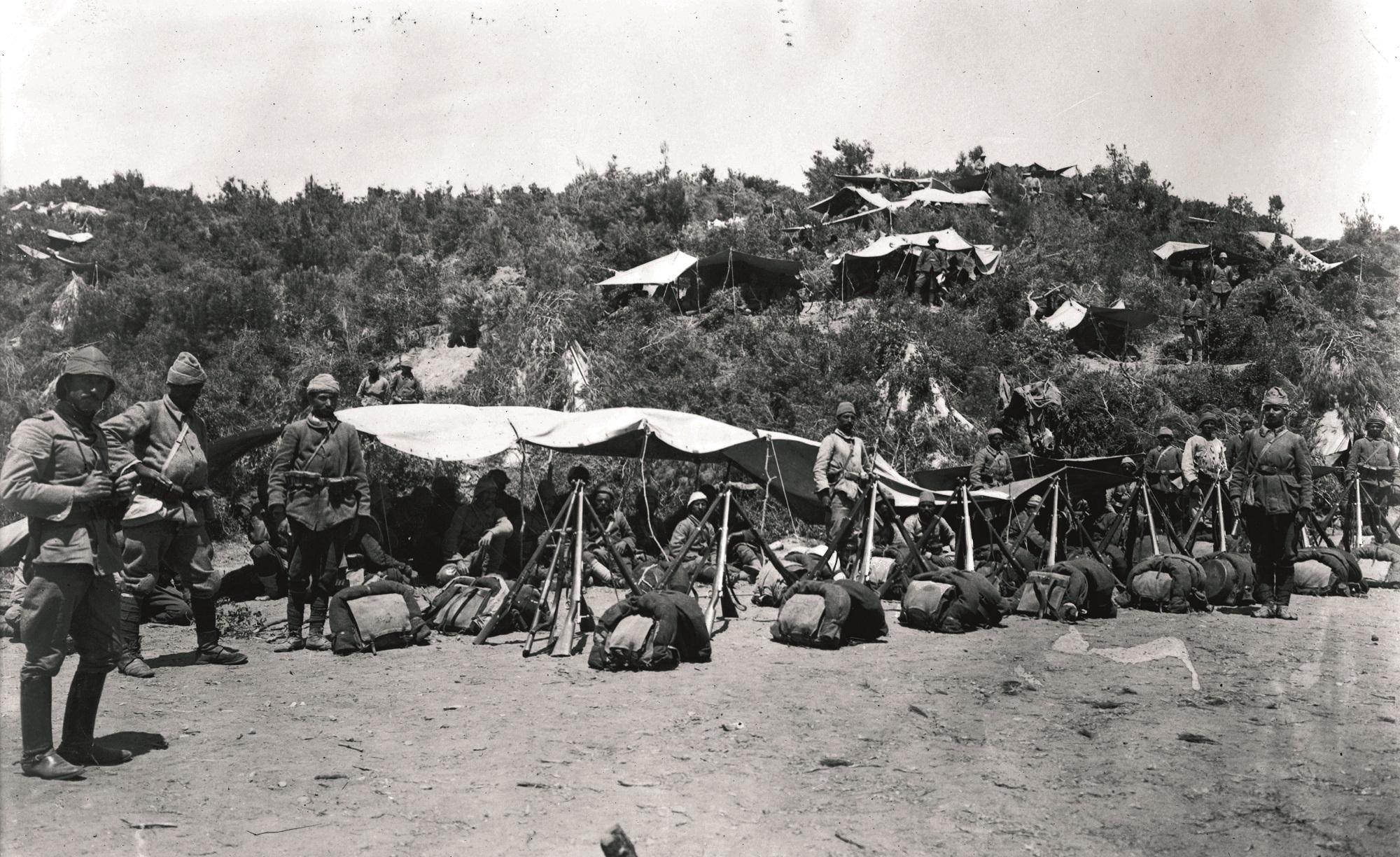 Birinci Harp'te Çanakkale savunması: Büyük direniş Gelibolu'da başladı | Atlas | Atlas Tarih