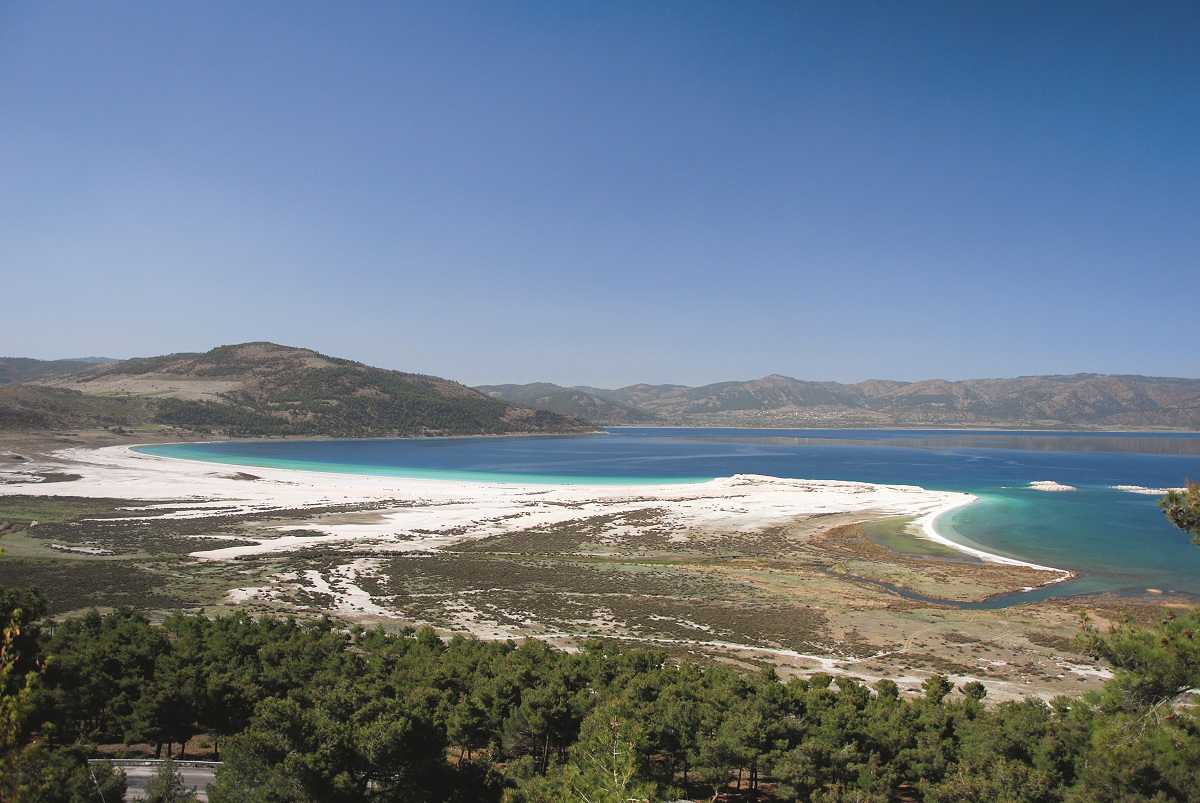 Kristal göl: Salda | Atlas | Gezi