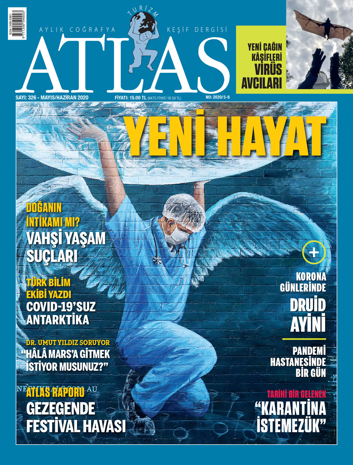Atlas'ın mayıs-haziran sayısı çıktı! Yeni sayıda neler var? | Atlas | Dergide Bu Ay