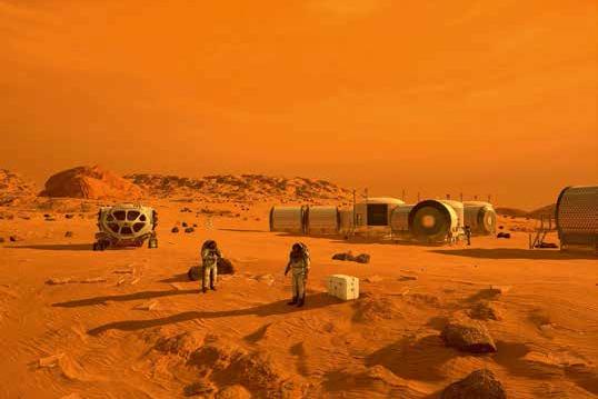 Karantinanın uzay hali | Atlas | mars