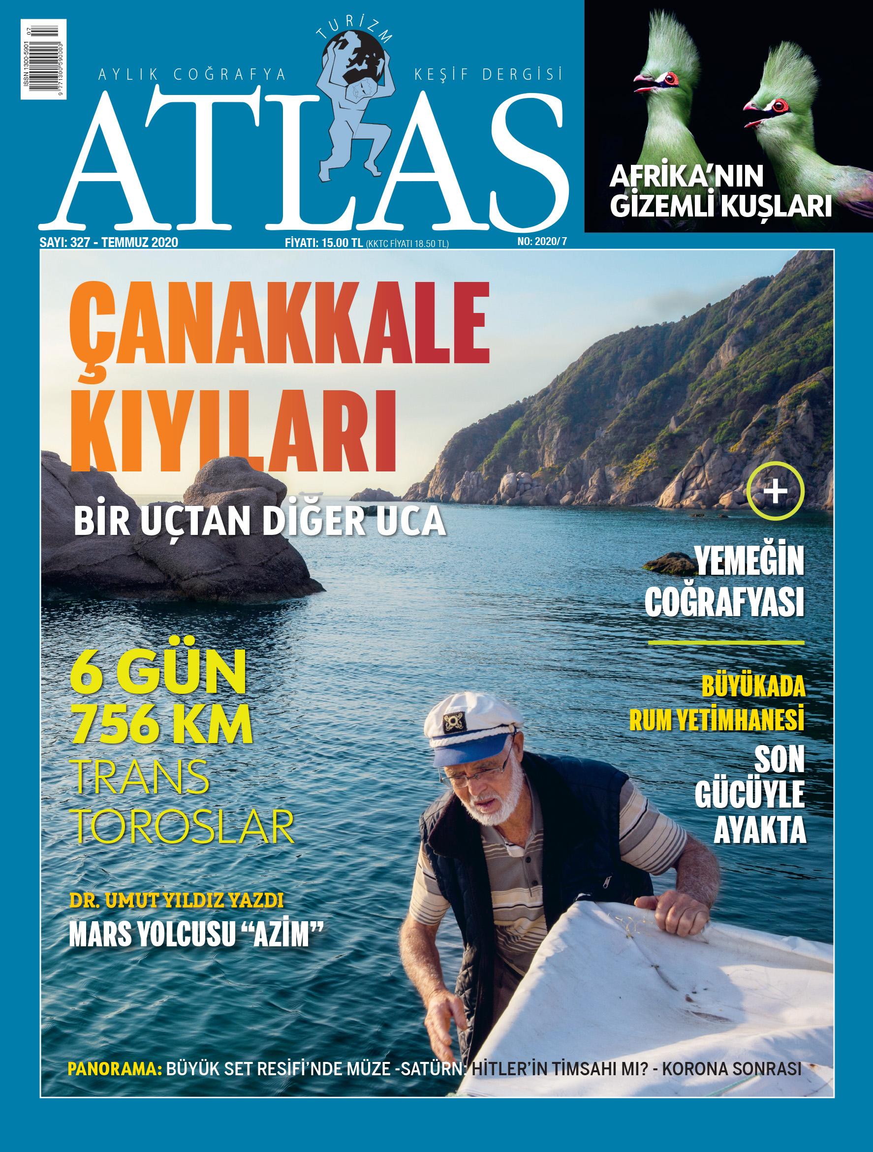 Atlas'ın temmuz sayısı çıktı! Yeni sayıda neler var? | Atlas | atlas dergisi