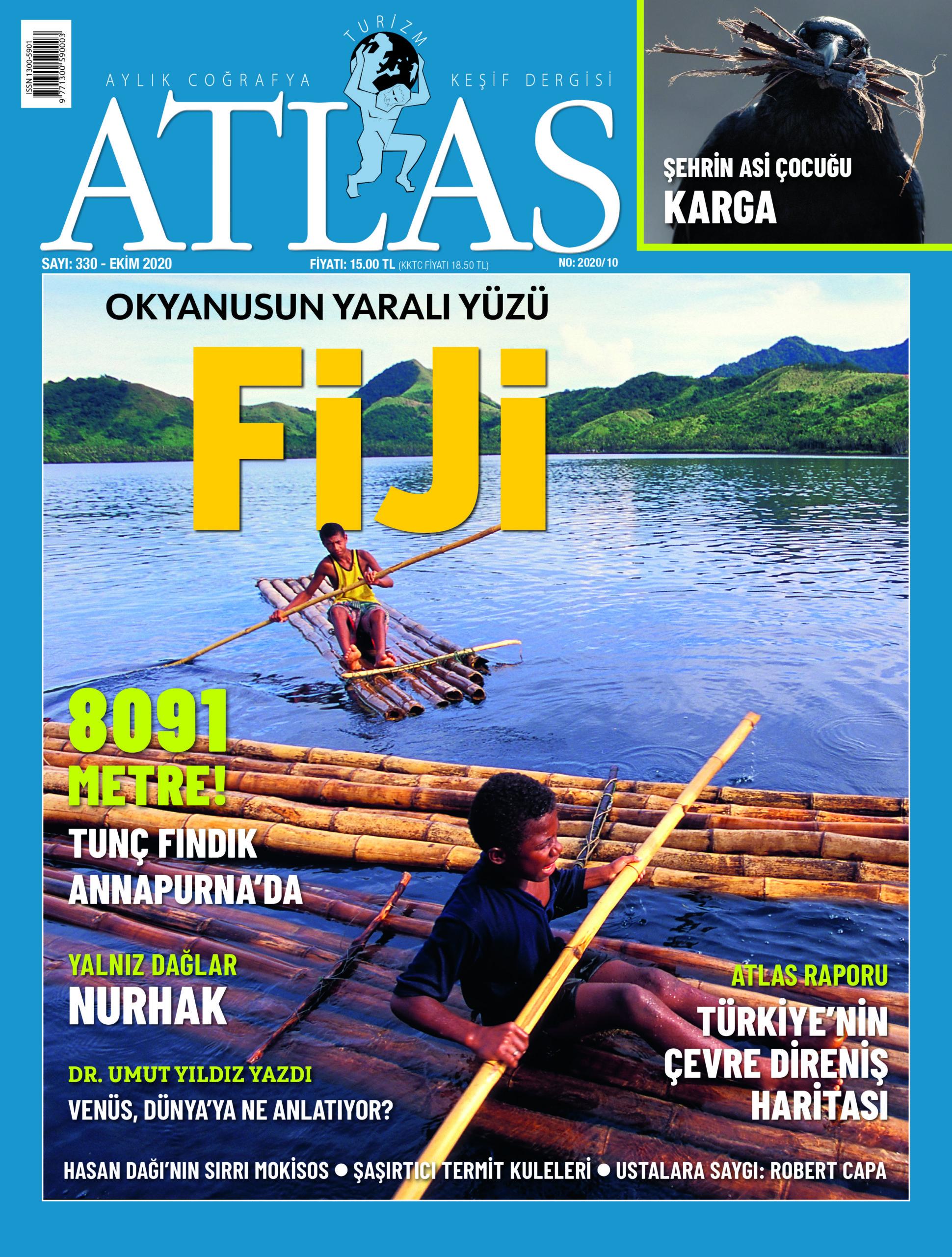 Atlas'ın Ekim sayısı çıktı! Yeni sayıda neler var?   Atlas   Dergide Bu Ay