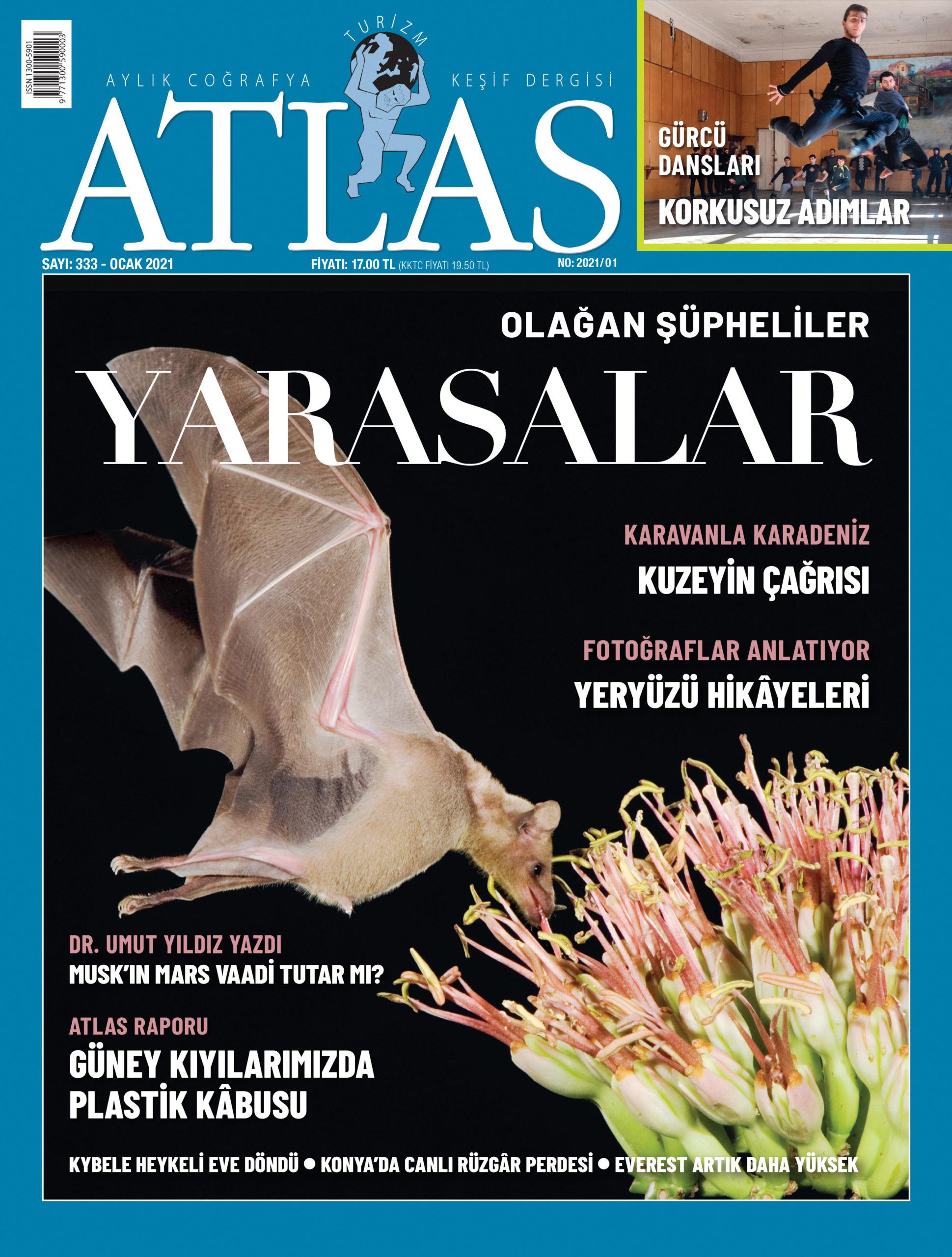 Atlas'ın Ocak sayısı çıktı! Yeni sayıda neler var? | Atlas | Dergide Bu Ay