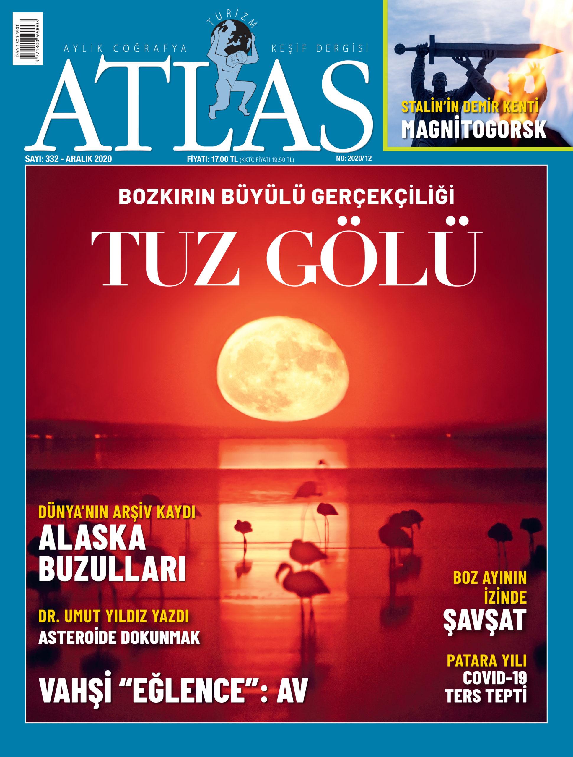 Atlas'ın Aralık sayısı çıktı! Yeni sayıda neler var?   Atlas   Dergide Bu Ay
